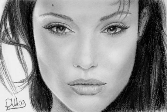 Angelina Jolie par dreamingart